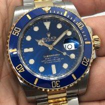 Rolex Submariner Date Gold/Steel 40mm Blue No numerals UAE, Abu Dhabi