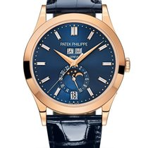 Patek Philippe Annual Calendar Rose gold Blue United States of America, New York, New York