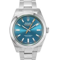 Rolex Milgauss Steel 40mm Blue No numerals United States of America, New York, New York