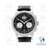 A. Lange & Söhne Datograph Platinum 39mm Black Roman numerals United States of America, New York