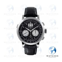 A. Lange & Söhne Datograph Platinum 41mm Black No numerals United States of America, New York, New York