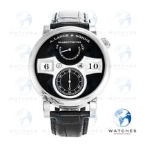 A. Lange & Söhne 140.029 White gold 2017 Zeitwerk 41.9mm pre-owned United States of America, New York, New York