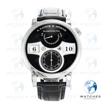 A. Lange & Söhne 140.029 White gold 2017 Zeitwerk 41.9mm pre-owned United States of America, New York