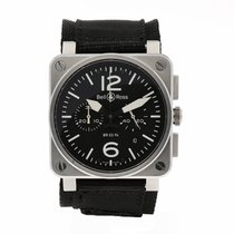 Bell & Ross BR 03-94 Chronographe Steel 42mm Black Arabic numerals United States of America, Florida, Sarasota