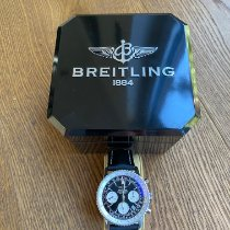 Breitling Navitimer 1 B01 Chronograph 43 pre-owned 43mm Black Chronograph Date Leather