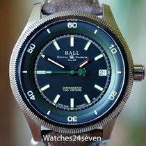 Ball Engineer II Magneto S rabljen Crn Datum, nadnevak Koza