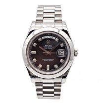 Rolex Day-Date II Platinum 40mm Black