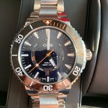 Oris Staghorn Restoration Limited Edition Steel 43,5mm Blue