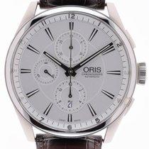 Oris Artix Chronograph 44mm Argent Sans chiffres