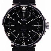 Oris ProDiver Date Titane 49mm Noir Sans chiffres