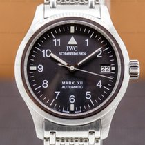 IWC Pilot Mark Steel 36mm Black Arabic numerals United States of America, Massachusetts, Boston