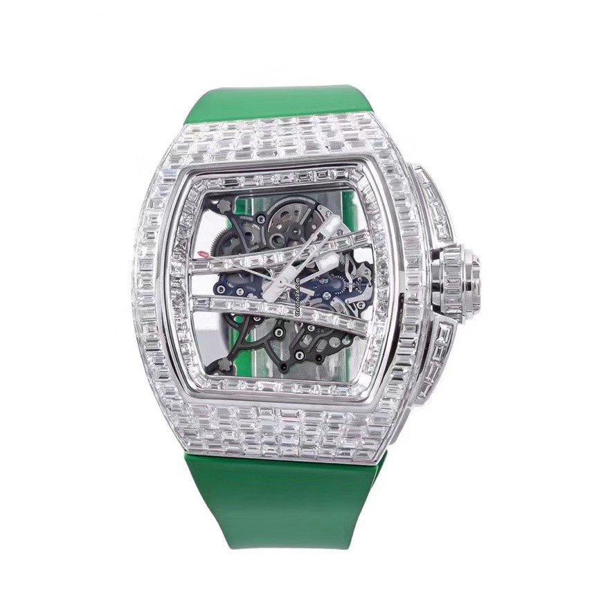 Richard Mille RM 061 RM61 custom full square diamond new