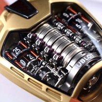 Hublot Oro amarillo Cuerda manual Negro Arábigos 46mm nuevo MP-05 LaFerrari