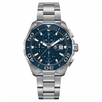 TAG Heuer Aquaracer 300M Staal 43mm Blauw Geen cijfers Nederland, Amsterdam