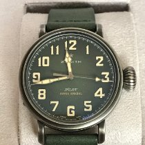 Zenith Pilot Type 20 Extra Special occasion 40mm Vert Cuir