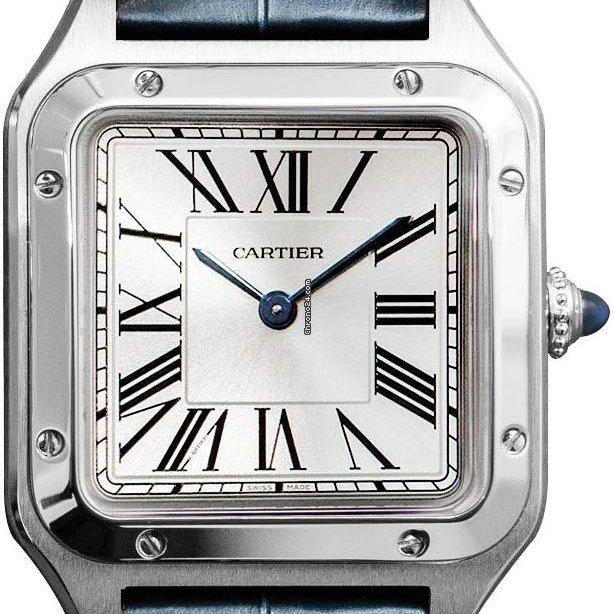 Cartier Santos Dumont WSSA0023 2021 новые