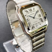 Cartier Santos (submodel) Stahl 39.8mm Silber Römisch Deutschland, Berlin