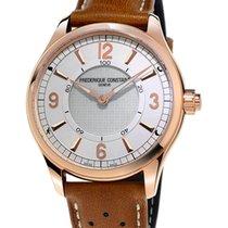Frederique Constant Horological Smartwatch FC-282AS5B4 Novo Aço 42mm Quartzo