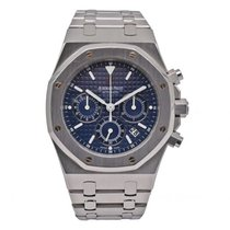 Audemars Piguet Royal Oak Chronograph Acier 39mm Bleu
