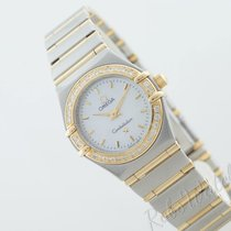 Omega Constellation Ladies Gold/Stahl 22,5mm Perlmutt