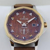 Corum Admiral's Cup Legend 42 nowość Automatyczny Zegarek z oryginalnym pudełkiem i oryginalnymi dokumentami 395.101.24/0F62AW12