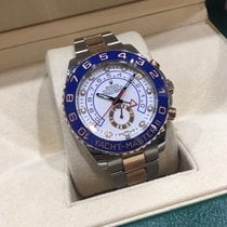 Rolex Yacht-Master II Gold/Steel 44mm White No numerals