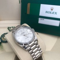 Rolex Day-Date 36 Weißgold 36mm Silber Keine Ziffern Deutschland, Dusseldorf