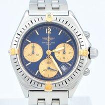 Breitling Chronomat Breitling Chronomat Sextant Quarz B55046 StahlGold Pilotband brukt