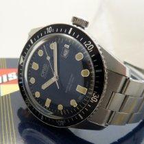 Oris Divers Sixty Five Steel 42mm Blue No numerals