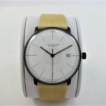 Junghans max bill Automatic Acier 38mm Blanc Sans chiffres