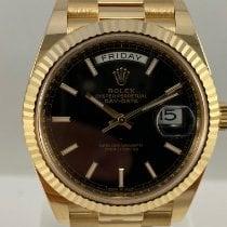 Rolex Day-Date 40 Geelgoud 40mm Zwart Nederland, Kerkrade