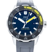 IWC Aquatimer Automatic 2000 pre-owned 44mm Black Date Rubber