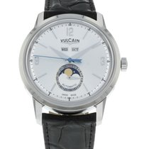 Vulcain Steel 42mm Automatic 580158.327L/BN new United States of America, Florida, Sarasota