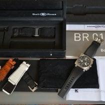 Bell & Ross BR 01-94 Chronographe BR0194-BL-ST 2006 new