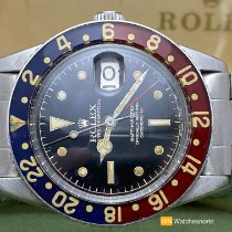 Rolex GMT-Master Stål 38mm Sort Ingen tal