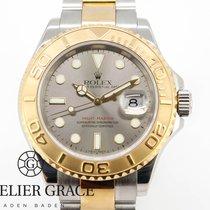 Rolex Yacht-Master 40 Gold/Stahl 40mm Silber Keine Ziffern Deutschland, Baden-Baden