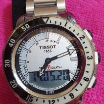 Tissot Sea-Touch Zeljezo 44mm Siv Bez brojeva