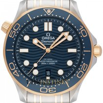 Omega Seamaster Diver 300 M Goud/Staal 42mm Blauw