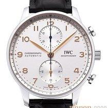 IWC Portugieser Chronograph neu 2020 Automatik Chronograph Uhr mit Original-Box und Original-Papieren IW371604