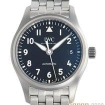 IWC Pilot's Watch Automatic 36 Staal 36mm Zwart Arabisch