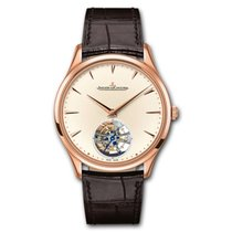 Jaeger-LeCoultre Master Ultra Thin Tourbillion Rose gold 39mm No numerals