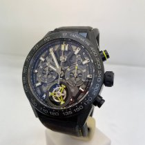 TAG Heuer Carrera Heuer-02T CAR5A8K.FT6172 Neu Titan 45mm Automatik
