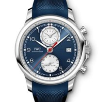 IWC Portuguese Yacht Club Chronograph Acier 43.5mm Bleu Arabes France, Paris