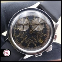 Tissot Heritage pre-owned 38mm Black Chronograph Date Leather