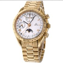 Omega Speedmaster Professional Moonwatch Moonphase Yellow gold 39mm White No numerals United States of America, New York, Greenvale