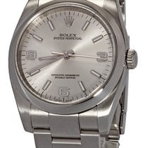 Rolex Oyster Perpetual 36 Steel 36mm Silver Arabic numerals United States of America, Florida, Plantation
