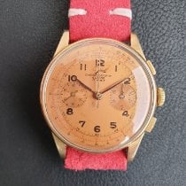 Chronographe Suisse Cie Or rose Remontage automatique 37mm occasion