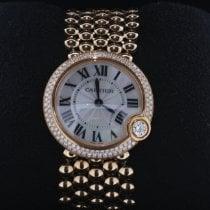 Cartier Ballon Blanc Roségold 30mm Perlmutt Keine Ziffern