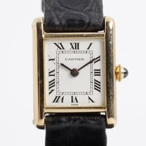 Cartier Tank Louis Cartier Yellow gold 29.5mm Silver Roman numerals United States of America, Arizona, Tucson