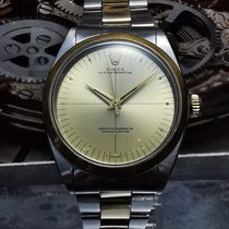 Rolex Oyster Perpetual 34 Yellow gold 34mm Champagne No numerals Malaysia, Malaysia